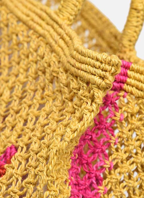 Handtaschen The Jacksons Wow - Small gelb ansicht von hinten