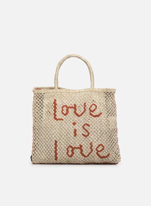 Handtaschen The Jacksons Love is love -Large beige ansicht von vorne