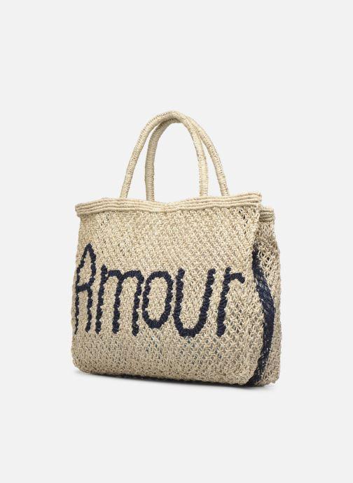 Handtaschen The Jacksons Amour - Small beige schuhe getragen