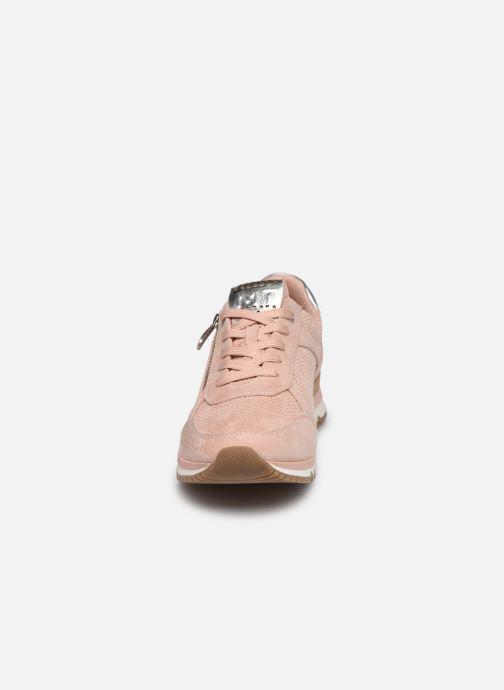 Sneaker Marco Tozzi Delia rosa schuhe getragen