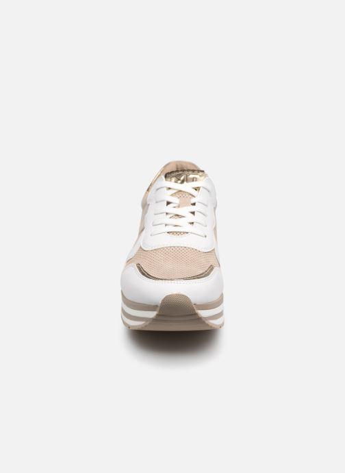Sneaker Marco Tozzi Lamia gold/bronze schuhe getragen