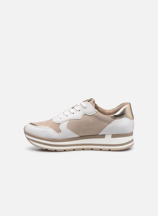 Sneaker Marco Tozzi Lamia gold/bronze ansicht von vorne