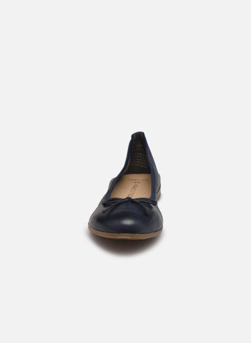 Ballerines Marco Tozzi Taratu Bleu vue portées chaussures