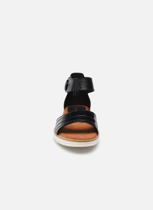 Sandales et nu-pieds Marco Tozzi mikas Noir vue portées chaussures