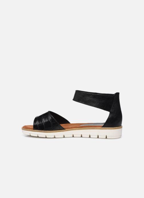 Sandales et nu-pieds Marco Tozzi mikas Noir vue face