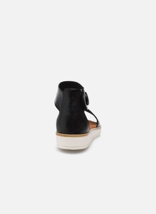 Sandales et nu-pieds Marco Tozzi mikas Noir vue droite