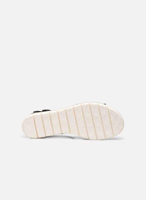 Sandales et nu-pieds Marco Tozzi mikas Noir vue haut