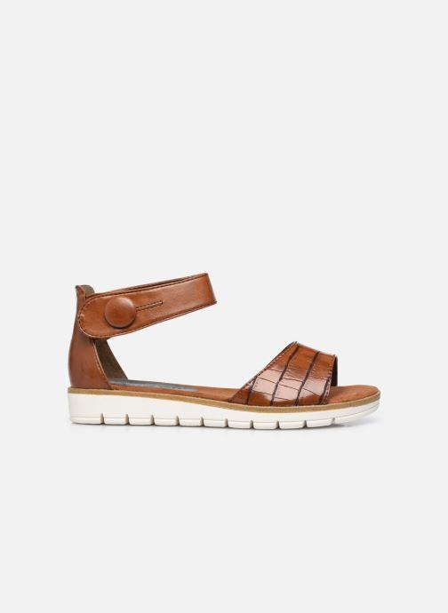 Sandales et nu-pieds Marco Tozzi mikas Marron vue derrière
