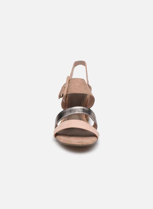Sandales et nu-pieds Marco Tozzi Sandra Beige vue portées chaussures
