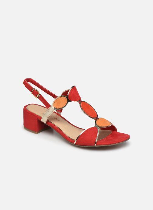 Sandales et nu-pieds Marco Tozzi Jiji Rouge vue détail/paire