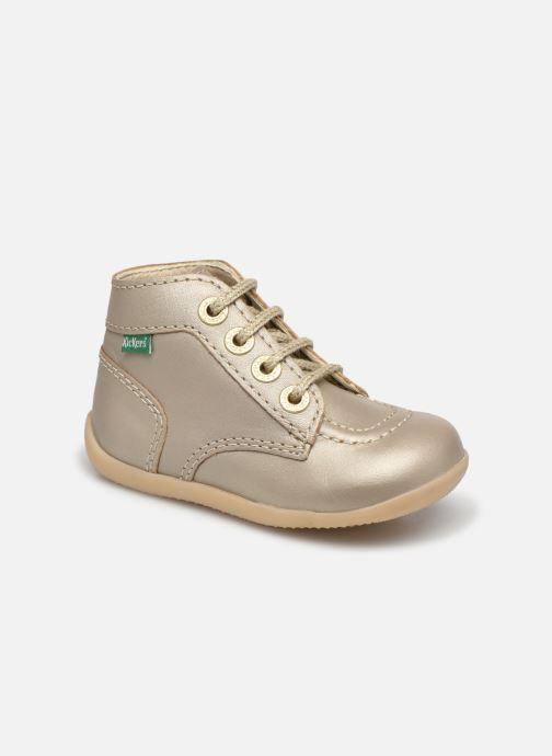 Bottines et boots Kickers Bonbon-2 Or et bronze vue détail/paire