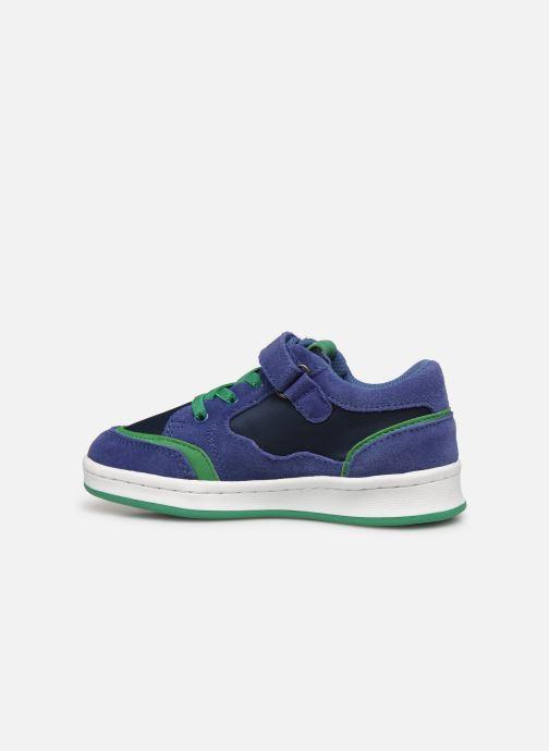 Sneaker Kickers Bisckuit blau ansicht von vorne