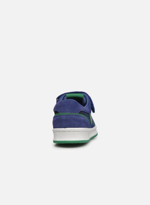 Baskets Kickers Bisckuit Bleu vue droite
