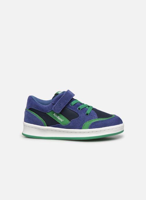 Sneaker Kickers Bisckuit blau ansicht von hinten