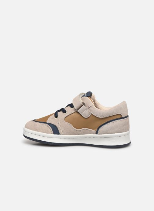 Baskets Kickers Bisckuit Beige vue face
