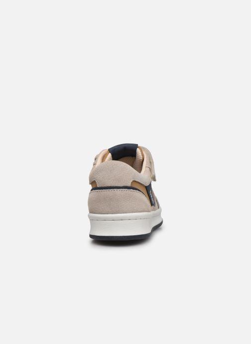 Sneakers Kickers Bisckuit Beige immagine destra