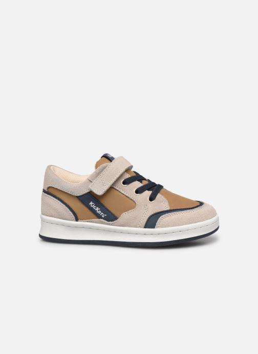 Sneakers Kickers Bisckuit Beige se bagfra