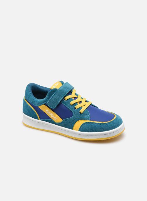 Sneaker Kickers Bisckuit blau detaillierte ansicht/modell