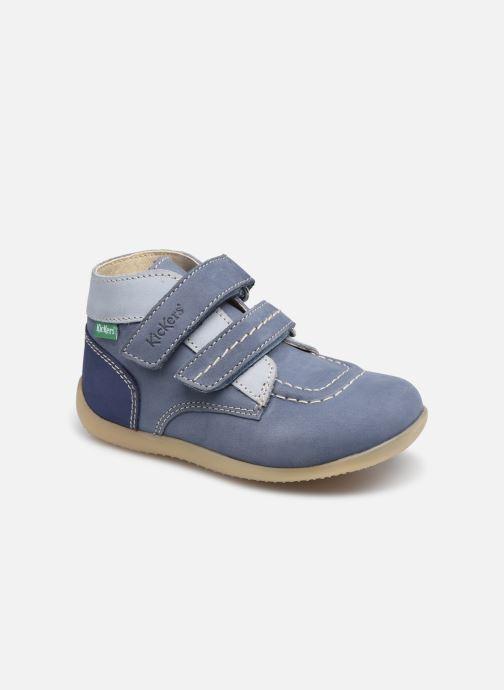 Stiefeletten & Boots Kickers Bonkro-2 blau detaillierte ansicht/modell