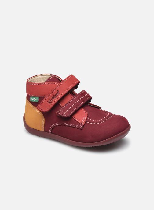 Boots en enkellaarsjes Kickers Bonkro-2 Bordeaux detail