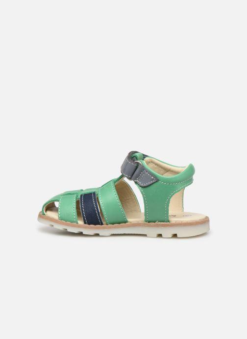 Sandali e scarpe aperte Kickers Nonosti Verde immagine frontale