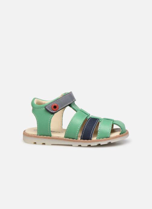 Sandali e scarpe aperte Kickers Nonosti Verde immagine posteriore