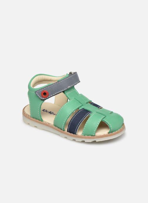 Sandalen Kickers Nonosti grün detaillierte ansicht/modell