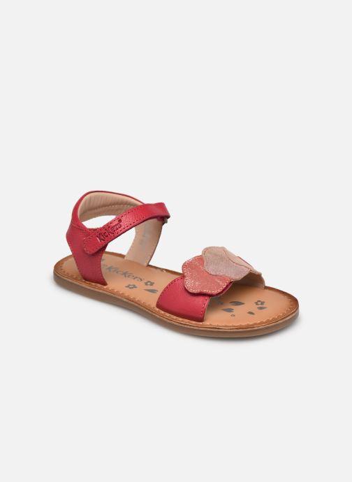 Sandalen Kickers Dyastar rosa detaillierte ansicht/modell
