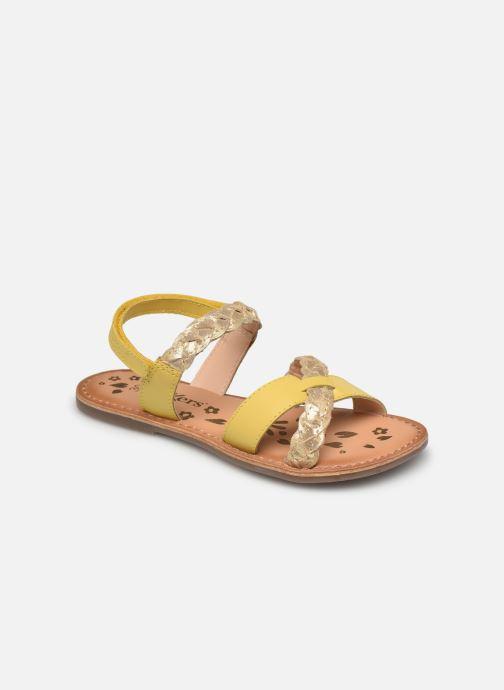 Sandalen Kickers Dimdami gelb detaillierte ansicht/modell