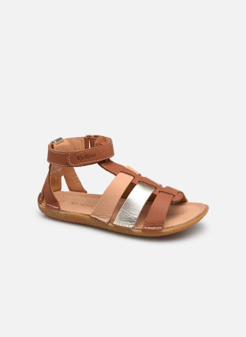 Sandalen Kickers Peenuts braun detaillierte ansicht/modell