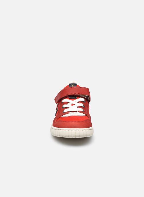 Sneaker Kickers Wintup rot schuhe getragen