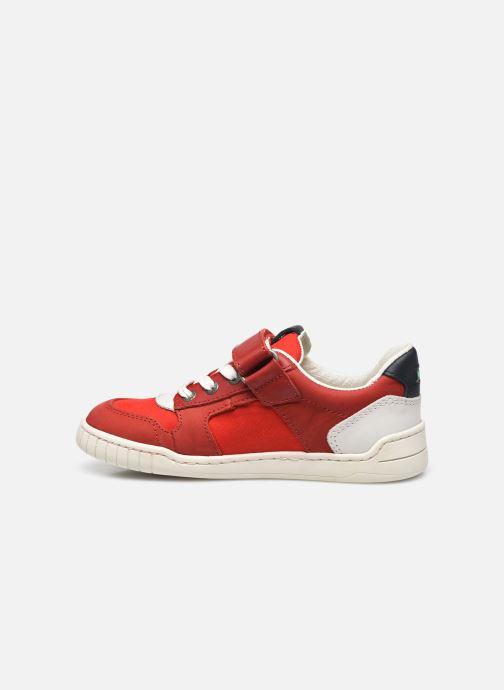 Sneaker Kickers Wintup rot ansicht von vorne