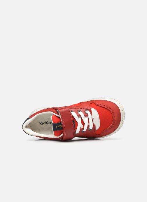 Sneaker Kickers Wintup rot ansicht von links