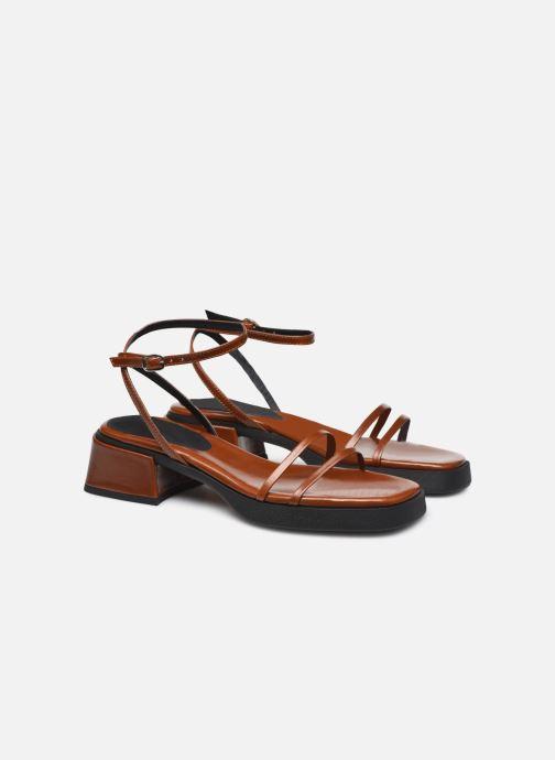 Sandali e scarpe aperte E8 by Miista Rosalyn Marrone immagine 3/4