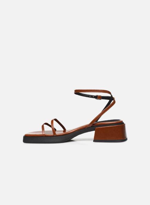 Sandali e scarpe aperte E8 by Miista Rosalyn Marrone immagine frontale