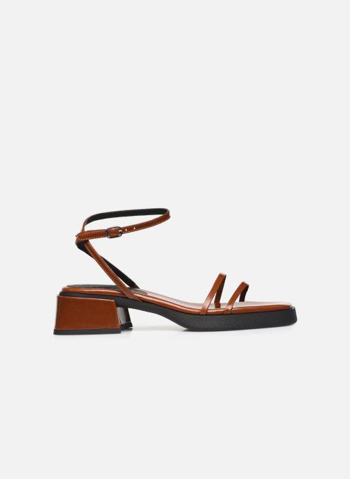 Sandalen E8 by Miista Rosalyn braun ansicht von hinten