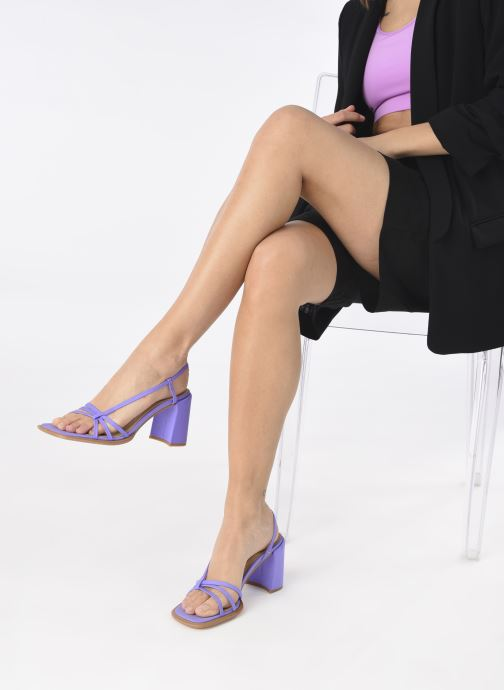 Sandali e scarpe aperte E8 by Miista Lori Viola immagine dal basso
