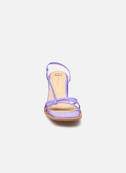 Sandali e scarpe aperte E8 by Miista Lori Viola modello indossato