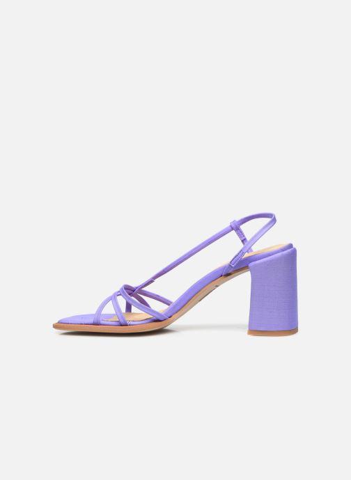 Sandali e scarpe aperte E8 by Miista Lori Viola immagine frontale