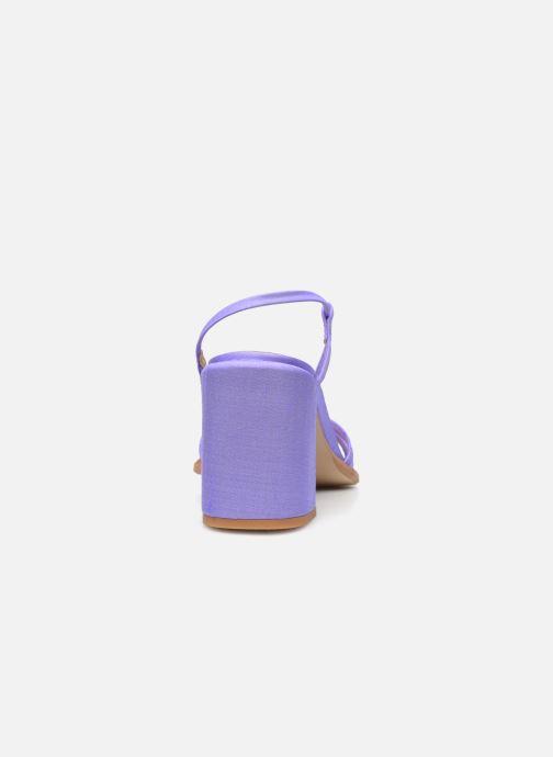 Sandali e scarpe aperte E8 by Miista Lori Viola immagine destra