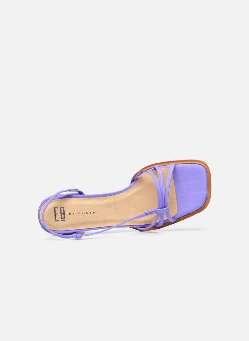 Sandali e scarpe aperte E8 by Miista Lori Viola immagine sinistra
