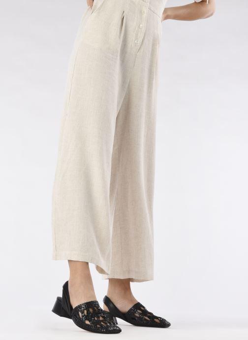 Clogs & Pantoletten Miista Margaret schwarz ansicht von unten / tasche getragen