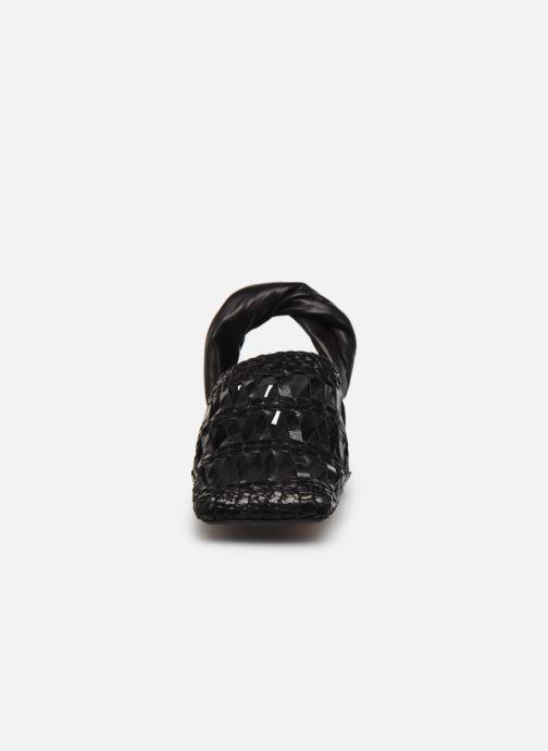 Clogs & Pantoletten Miista Margaret schwarz schuhe getragen