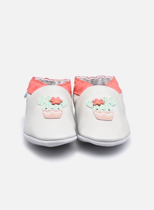 Chaussons Robeez Happy Cactus Beige vue portées chaussures