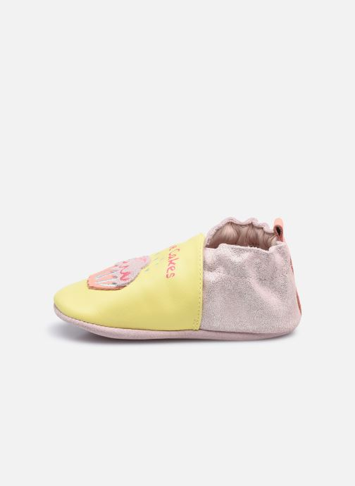Chaussons Robeez Sweet Cake Jaune vue face
