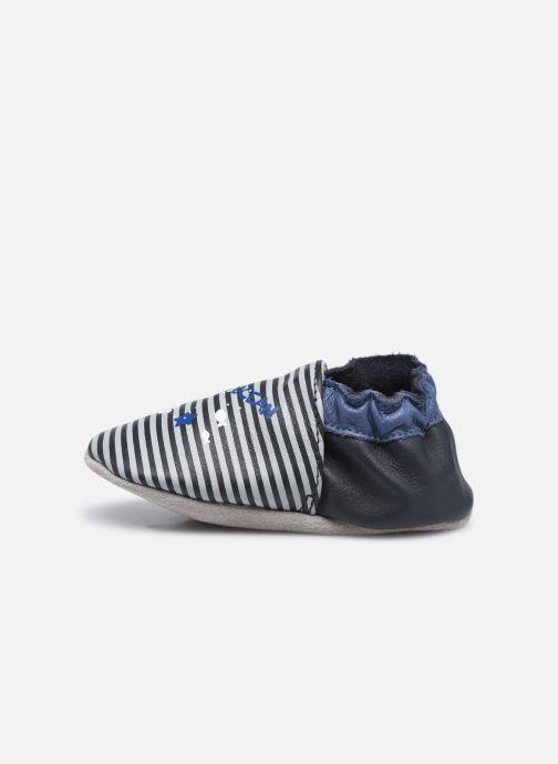 Pantoffels Robeez Sea Light Blauw voorkant