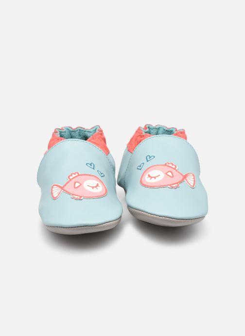 Pantoffels Robeez Fish in Love Blauw model