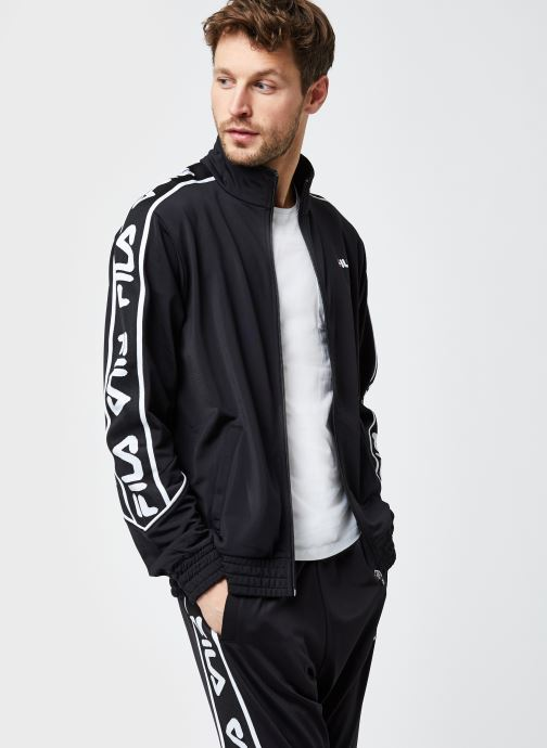 Vêtements FILA Ted Track Jacket Noir vue détail/paire