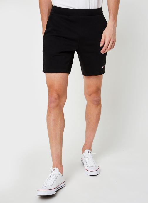 Vêtements Tommy Sport Logo Fleece Short M Noir vue détail/paire