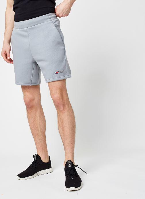 Vêtements Tommy Sport Logo Fleece Short M Gris vue détail/paire